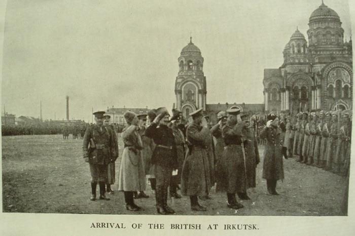 Британцы в Иркутске