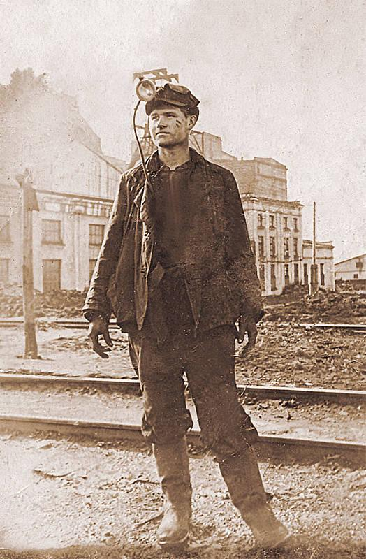 Молодой кузнецкий шахтер Р. Берестенев. Иркутск