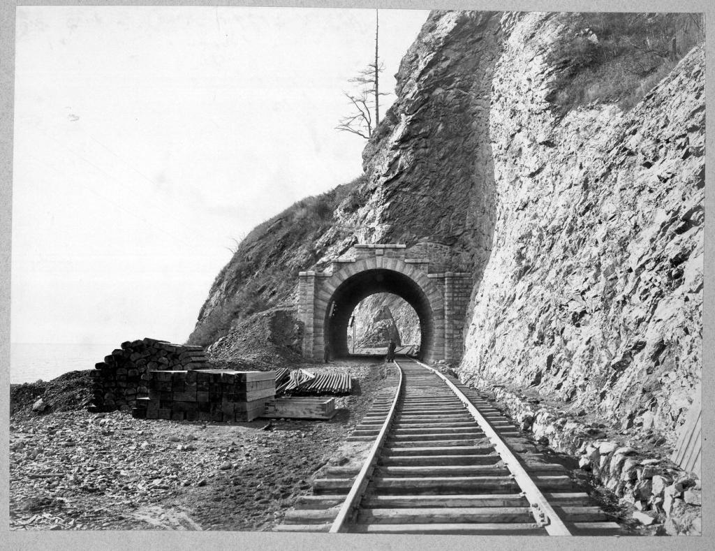 Тоннель №13 длиной 14,8 саженей на 36 версте.
