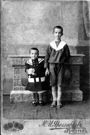 Неизвестная фотография. Иркутск. Ориентировочно - начало XX в. Фотография М.Ярославцева. Иркутск.