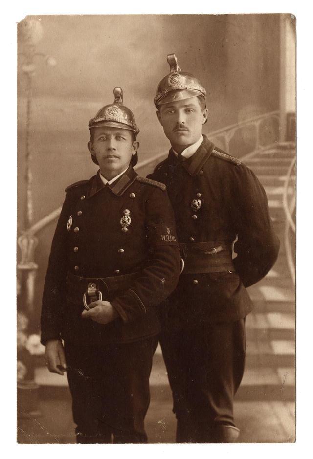Иркутские пожарные. Конец XIX века.