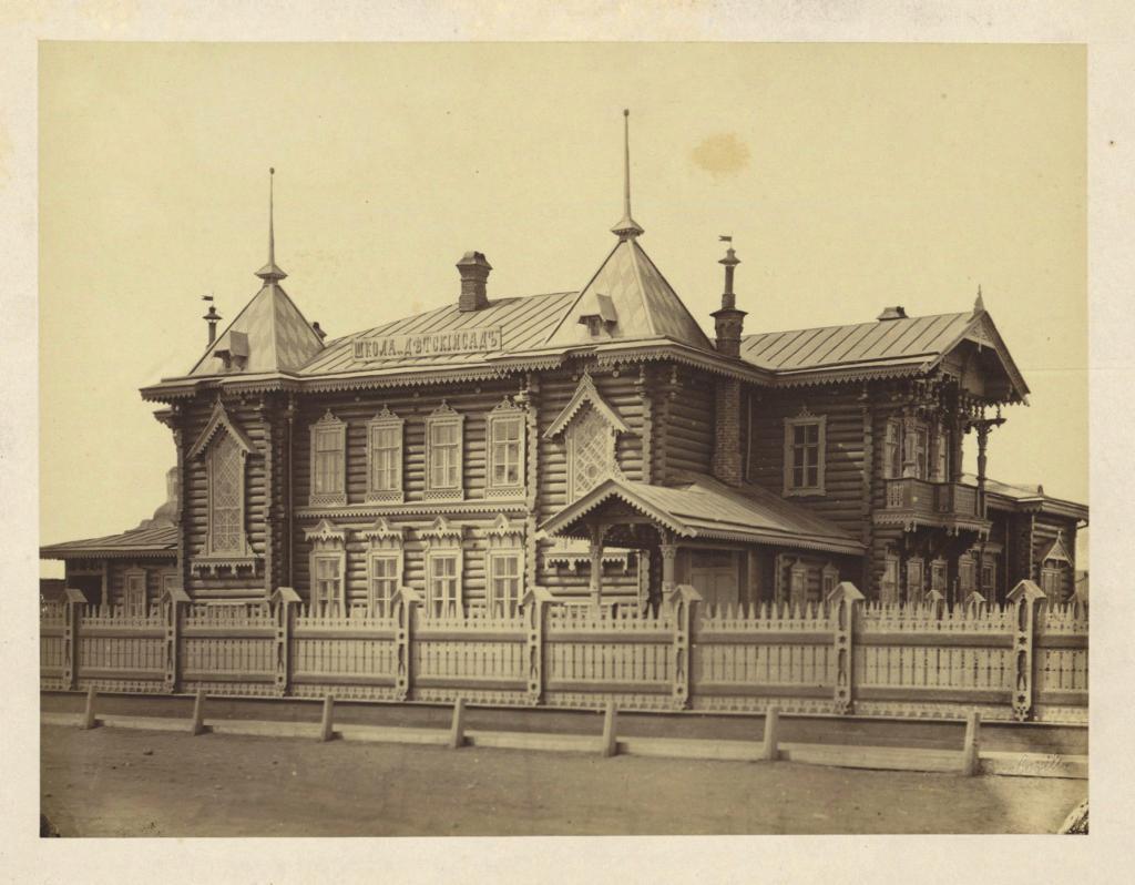 Иркутск. Детский сад на Амурской улице