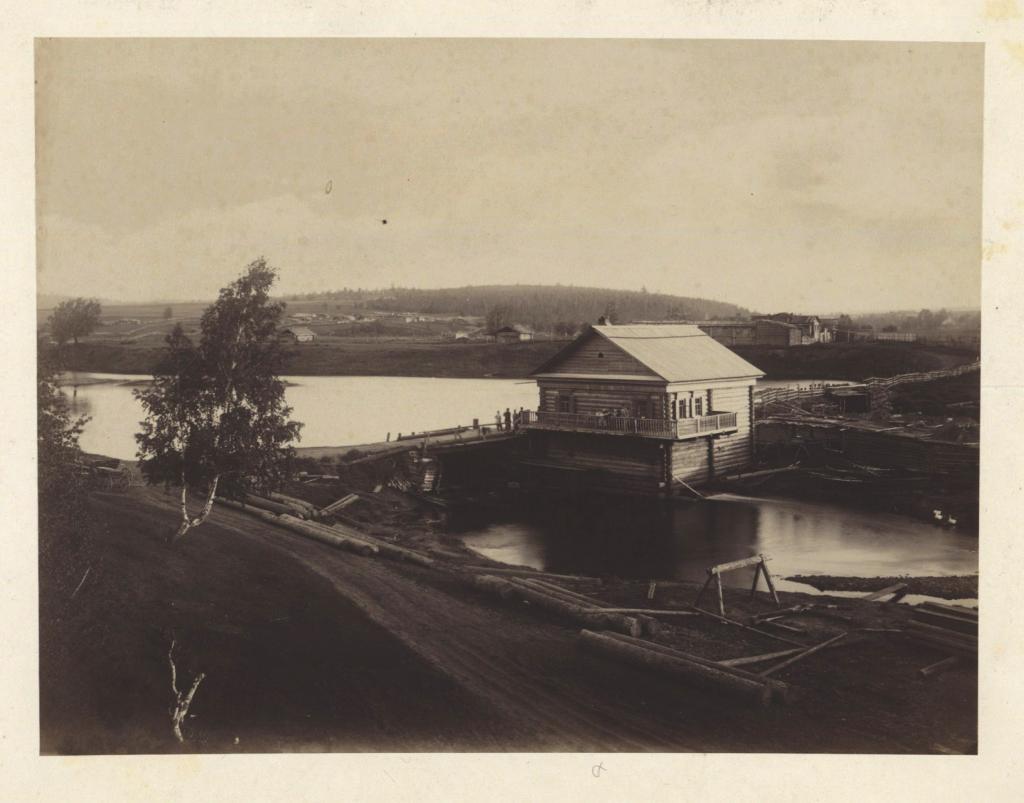 Иркутск. За Гласковым и Кайской горой, мельница на реке Кайе