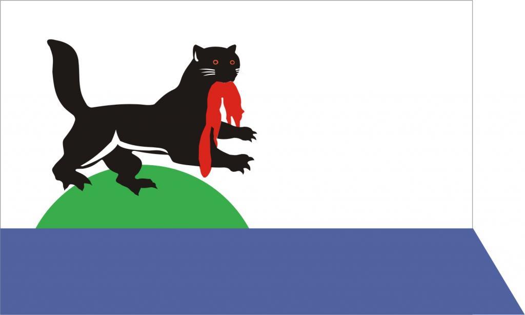 Флаг г. Иркутска