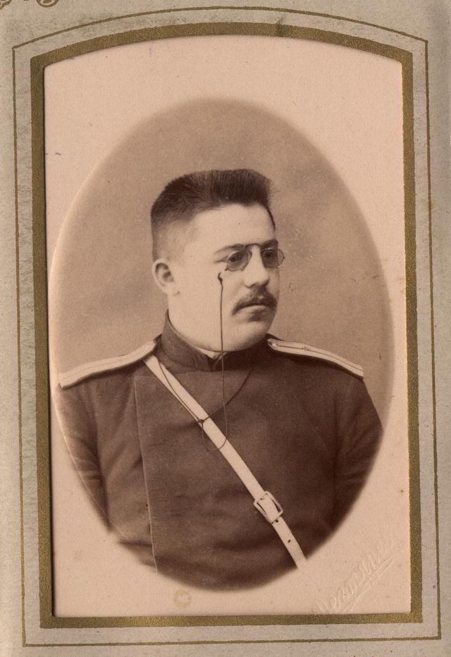 Иркутский брандмайор Домишкевич. Иркутск, конец XIX в.