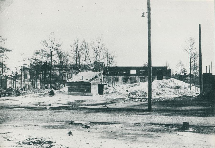 Место после взрыва. Из архива Эльвиры Каменщиковой
