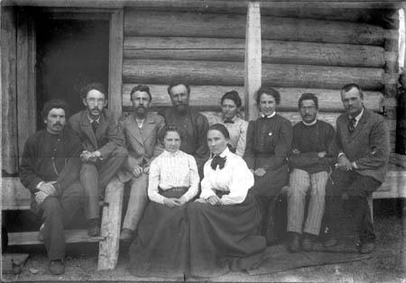 Автор, место и лица неизвестны. Предположительно окрестности Иркутска, конец XIX или начало XX в.