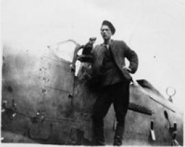 Лётчик-испытатель  И-14 Иван Лагутин