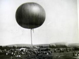 Воздушные шары были очень популярны в XIX в. Иркутск не стал исключением