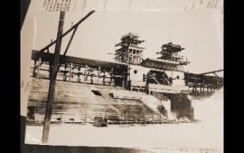 """Центральная спортивная арена Иркутска - стадион """"Труд"""". Еще в деревянном исполнении..."""