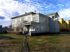 Дом князя Сергея Григорьевича Волконского был построен в 1838 в селе Урик Иркутской губернии.