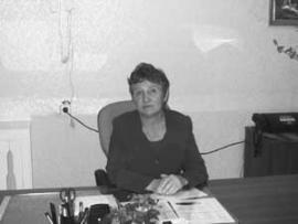 Директор Алгатуйской средней школы Валентина Голубева