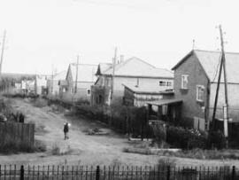 Коттеджи шахтерского поселка Алгатуй