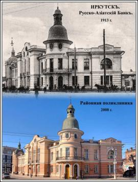 С начала ХХ века здание практически не изменилось
