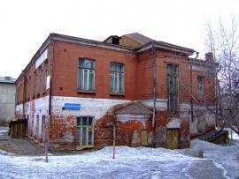 Здание, где размещалось Иркутское общество народных чтений