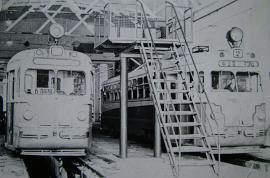 Конец 1950-х гг. МТВ - 82. В депо.