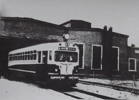 1953 г. МТВ - 82. Один из трех первых прибываших в Ангарск трамвайных вагонов.
