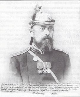 Брандмейстер П.М. Мякинин