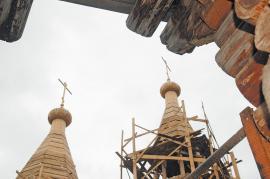Строительство церкви в поселке Анга Качугского района