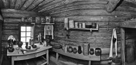 Дом-музей святителя Иннокентия в поселке Анга