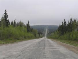 Спуск - Подъем дорога на Гремячинск