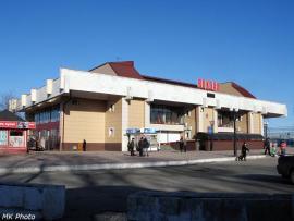 Вокзал станции Иркутск-Сортировочный