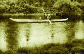 Эвенкийская лодка