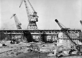 Строительство Иркутской ГЭС