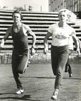 Олимпийцы 1980 года — Александр Стасевич и Татьяна Гойшик
