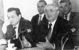 Г. Фильшин и М. Горбачев