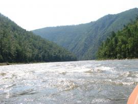 Река Иркут в районе заказника. Фото: slavarover, panoramio.com