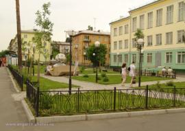 Сквер по улице Горького