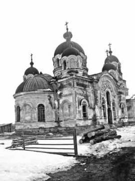 Свято-Никольский храм села Голуметь