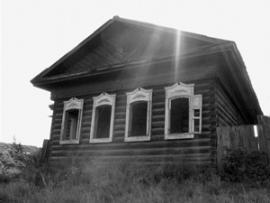 Скорее всего, брошенный казачий дом. Построен так крепко, что в нем и сейчас можно жить