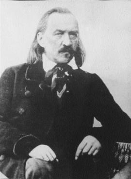 Декабрист Сергей Григорьевич Волконский. Фото А. Давиньона. Иркутск, 1845
