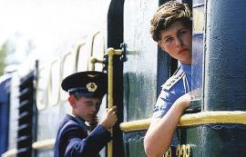 Юные железнодорожники Восточно-Сибирской детской железной дороги
