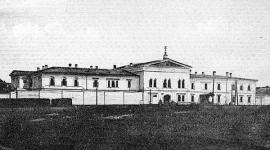 Иркутский тюремный замок. Фото 1911 г.ода
