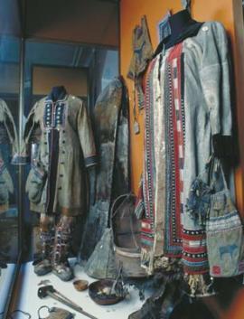 Одежда северных народов. Фонд музея