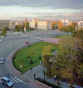 Сквер имени Кирова, современный вид