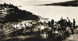 Переправа через Ангару