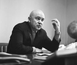 I-й секретарь обкома КПСС Николай Банников