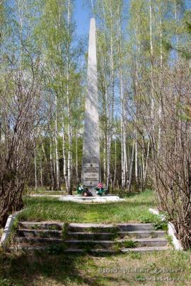 Чунский район. Обелиск павшим в Великой Отечественной войне