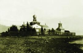 Церковь в Дагарах на В. Ангаре. 1902 г. ИОКМ ф655-5