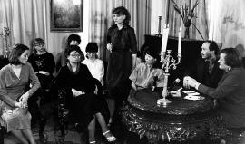 «Декабристские вечера». Второй справа директор музея Е. Ячменев