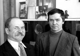 В. Рогаль и В. Распутин