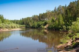 Чунский район, река Чукша