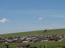 Село Харёты Нукутского района