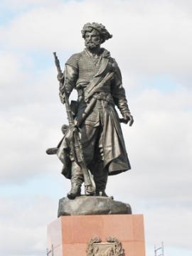 Памятник первопроходцам Сибири, г. Иркутск