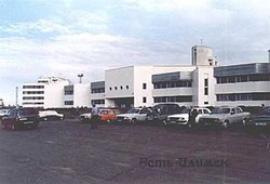 Новый аэровокзал в Усть-Илимске на 450 пасc/час.