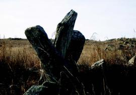 Остатки древних сооружений. о. Ольхон